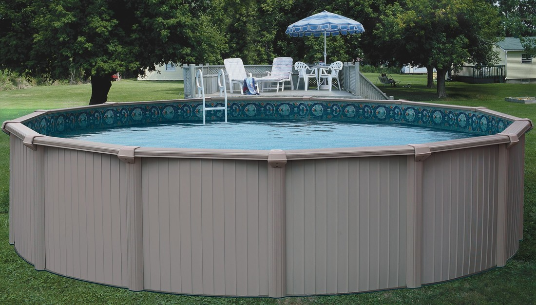 picture - Above Ground Fiberglass Swimming Pools