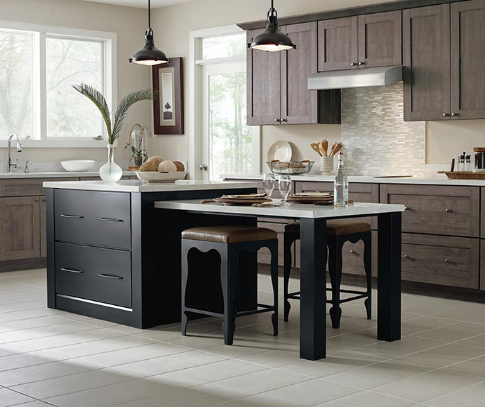 Metal Black Kitchen Cabinets: What's Trending In Metal Finishes And Hardware—BYHYU 144