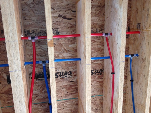 Build your house yourself university byhyu build your for Pex pipe vs copper