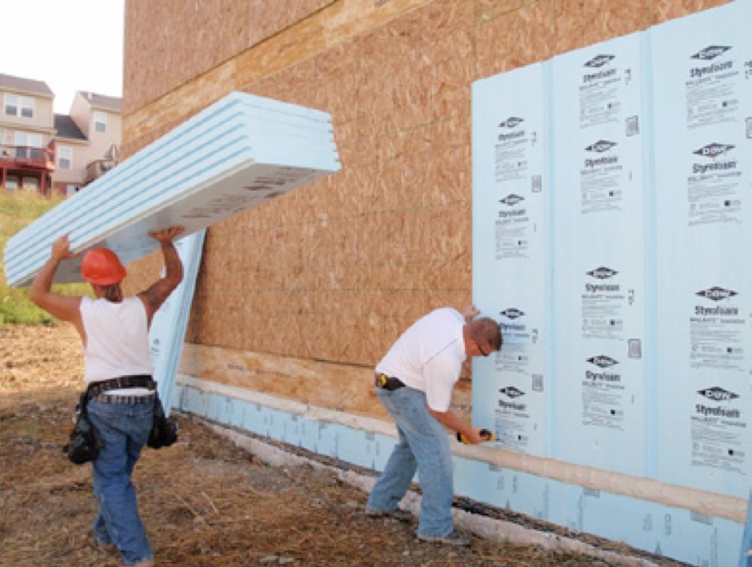 Rigid foam insulation 101 important installation tips for Foam panel house