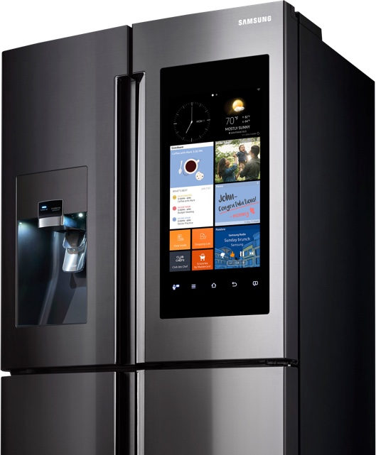 A Fridge With A Built In Keurig Coffee Maker Learn