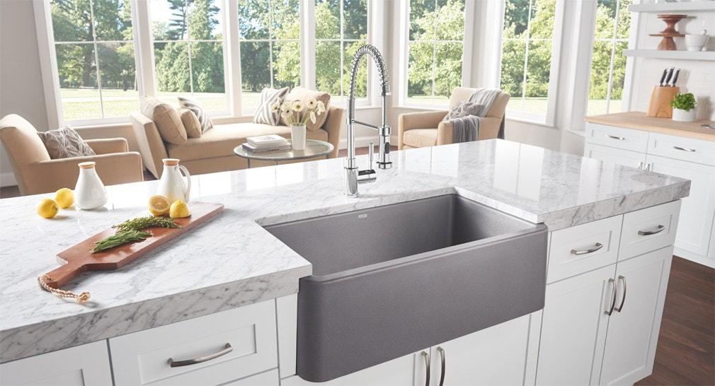 Great A Full Mini Lesson On Kitchen Sinks. White Or Stainless Steel. What Else Is  There To Choose? Whatu0027s The Big Deal?