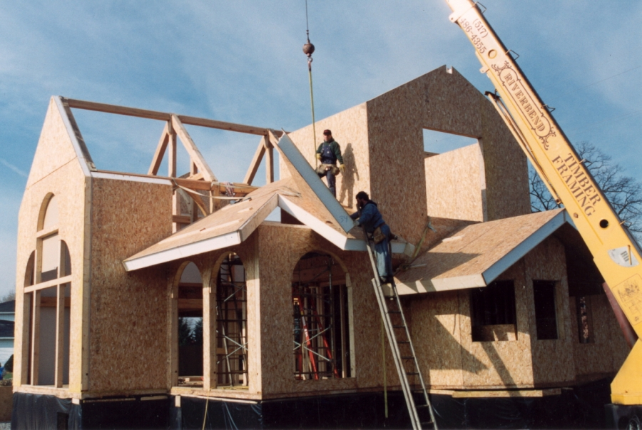 Structural insulated panels sips and insulated concrete for Building with sip